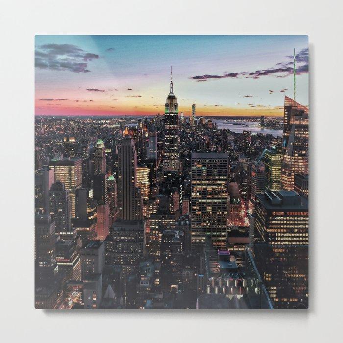 NY CITY Metal Print