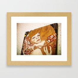 ikea girl Framed Art Print