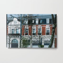 Awesome colors. Awesome house. Metal Print
