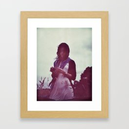 Oana Portrait Framed Art Print