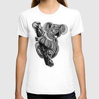 ornate T-shirts featuring Ornate Koala by BIOWORKZ