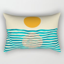 Ocean current Rectangular Pillow