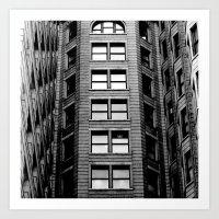 building Art Prints featuring Building by Conor O'Mara