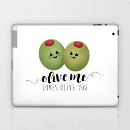 Olive Me Loves Olive You Laptop & iPad Skin