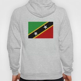 Saint Kitts and Nevis country flag Hoody