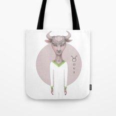 taurus astro portrait Tote Bag