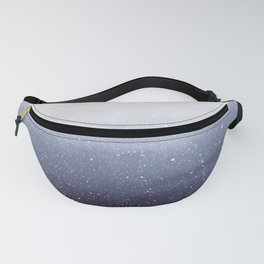 Falling Snow Fanny Pack