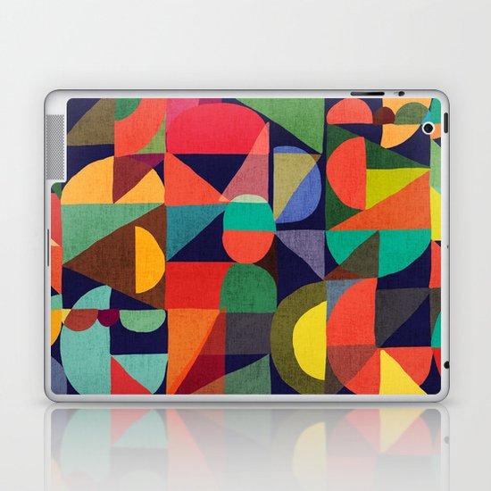 Color Blocks Laptop & iPad Skin