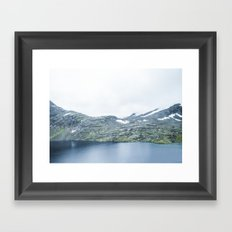 Norway landscape#28 Framed Art Print