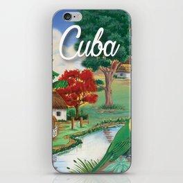 Cuba Scenery 2 iPhone Skin