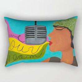 Live Your Dream Rectangular Pillow