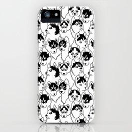Oh Husky iPhone Case