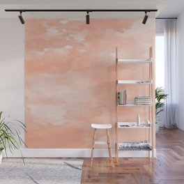 Beautiful Peach Art Wall Mural