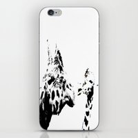 giraffes iPhone & iPod Skins featuring Giraffes  by Digital-Art