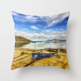 Lets Sail Away Throw Pillow