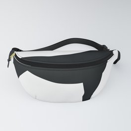 Horse - Two - Black Fanny Pack