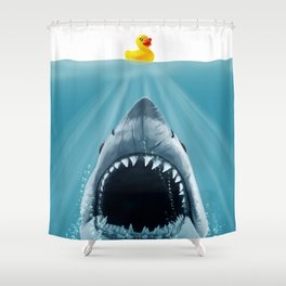 Save Ducky Shower Curtain