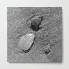 sand and shadow Metal Print