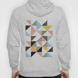 Geometric Abstract,Abstract Print,Abstract Poster,Geometric Triangles,Printable Art,Modern Art Hoody
