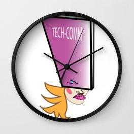 Tech-Comm GAL Wall Clock