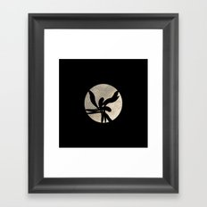 Dancing in the moonlight Framed Art Print
