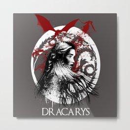 Dracarys Metal Print