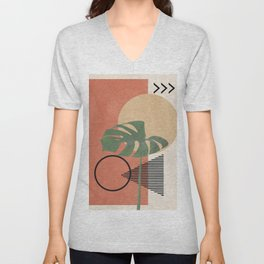 Nature Geometry I Unisex V-Neck
