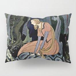 """""""The Black Tortoise"""" by Virginia Frances Sterrett Pillow Sham"""