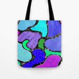 Funky Lagoons Tote Bag