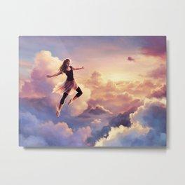 Chase the Sky Metal Print