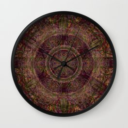 Mark of Hope and Wisdom Wall Clock
