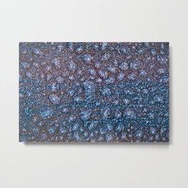Ice. Metal Print