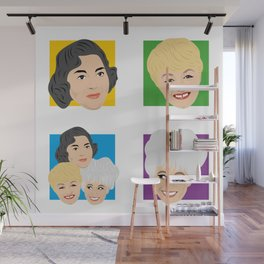 Carry On - Hattie Jacques Barbara Windsor Joan Sims Wall Mural
