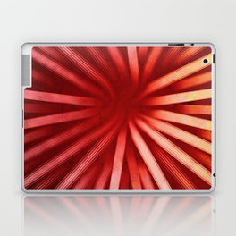Intersecting-Red Laptop & iPad Skin