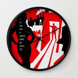 Hardboiled :: Red Harvest :: Dashiell Hammett Wall Clock