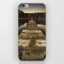 Ice House Lake iPhone Skin