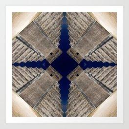 Chichen Itza Pyramid, Mexico Art Print