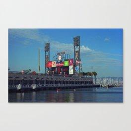 San Francisco Bay and Ballpark 2007 Canvas Print