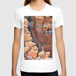 Red rock hike T-shirt