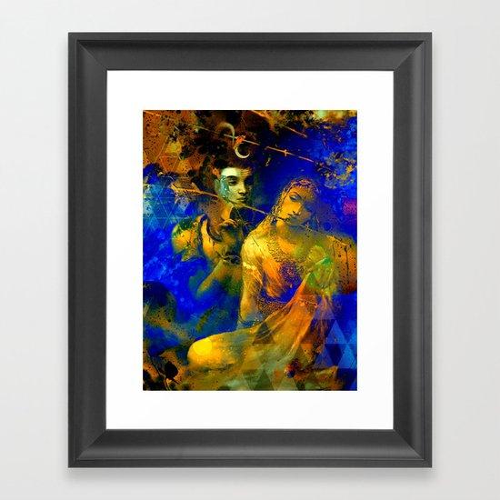 Hindu Poster Art: The Hindu God Framed Art Print