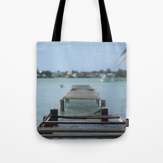 Turquoise Paradise Tote Bag