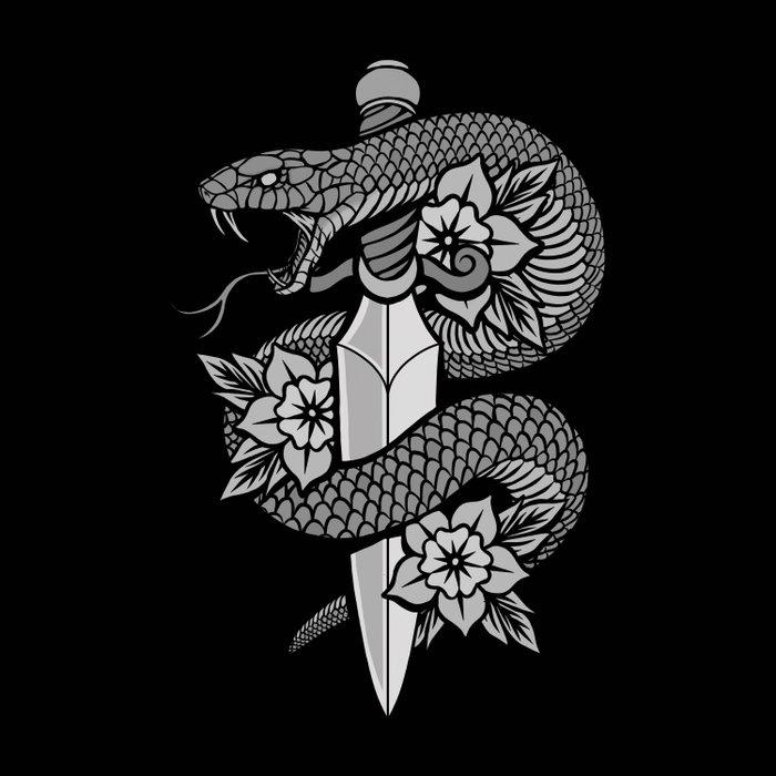 Snake & Dagger Comforters