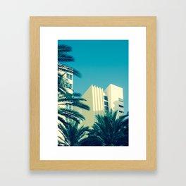 Art Deco Miami Beach #25 Framed Art Print