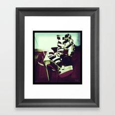 Shoes - Louboutin III Framed Art Print
