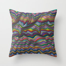 Wrinkled Throw Pillow