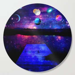 Universe Cutting Board