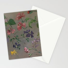 Studies of Flowers by Jacques-Laurent Agasse, 1848 Stationery Cards