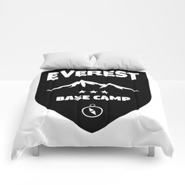Mount Everst Base Camp Comforters