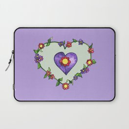Heartily Floral Laptop Sleeve