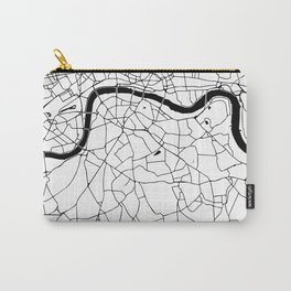 London Minimal Map Carry-All Pouch